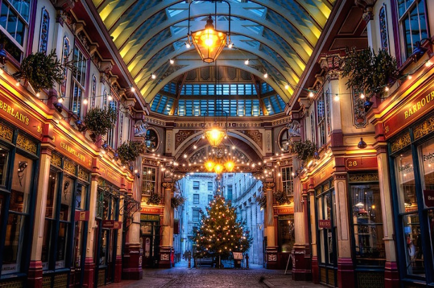 Kerst in Londen - Photo: JH Images.co.uk
