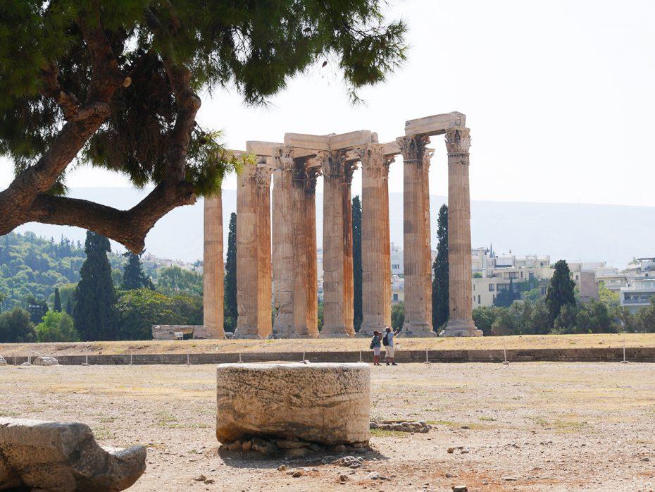 Tempel van Zeus in Athene!