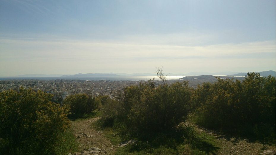 Philopappos Hill, Athene