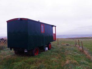 Slapen in een pipowagen in Schotland