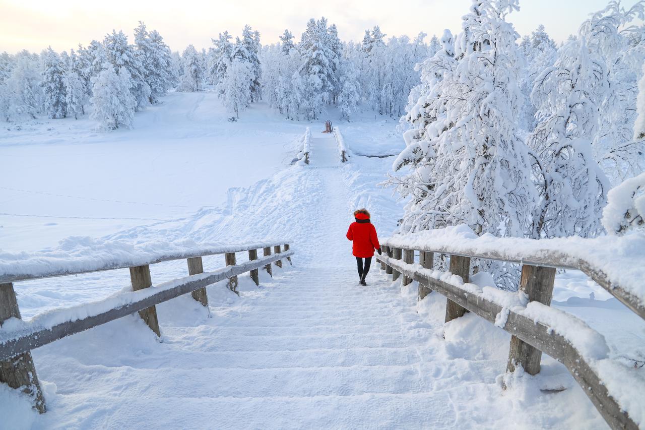 Prachtige omgeving en imposante Finse natuur