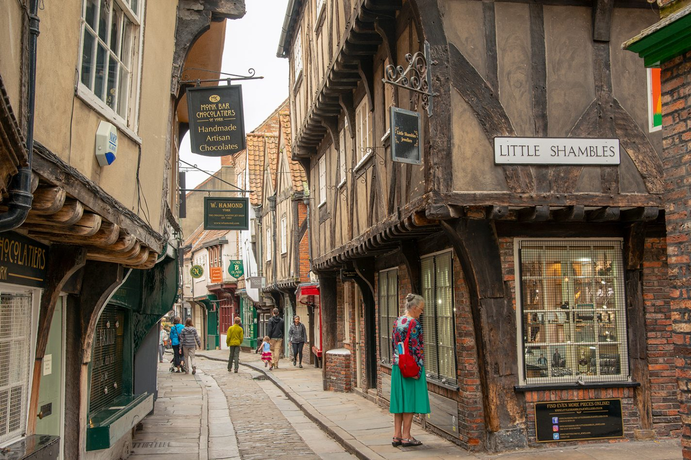 The Shambles in het Engelse York