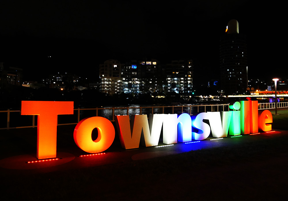 Townsville in the spotlights